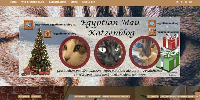 Egyptian Mau Blog