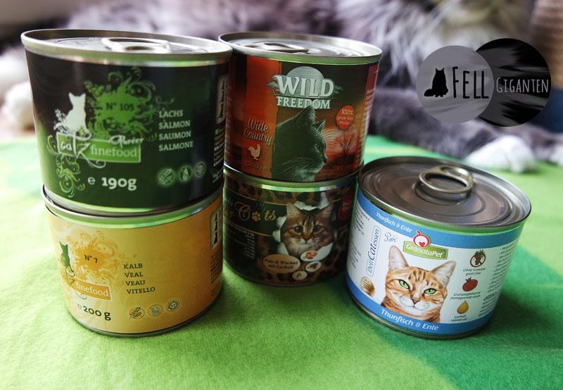 Hochwertiges Katzenfutter